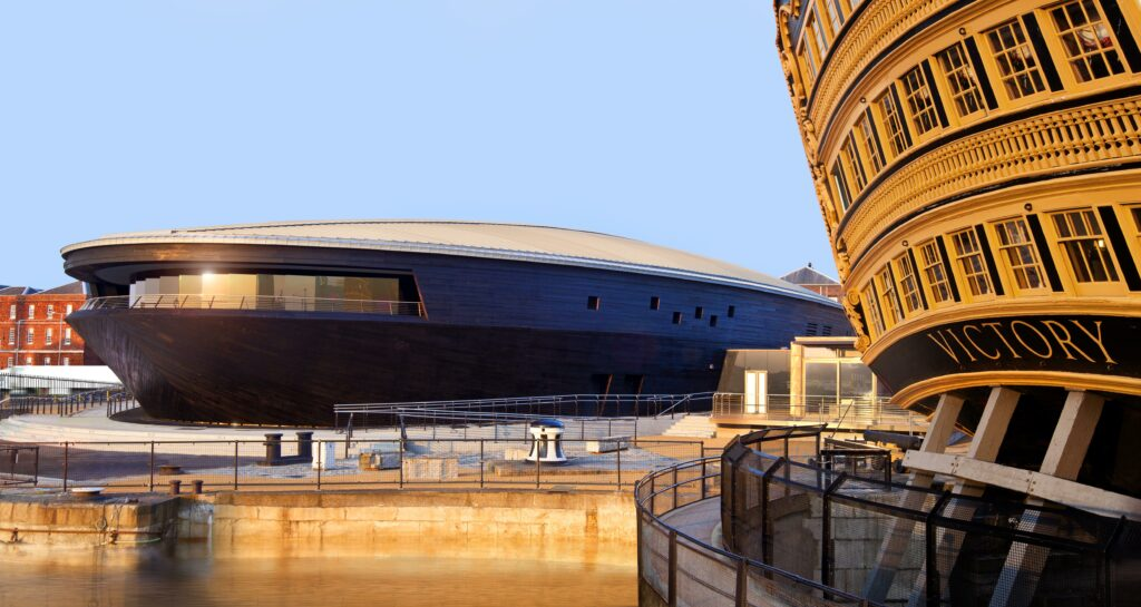 The Mary Rose Museum in Portsmouth Historic Dockyard