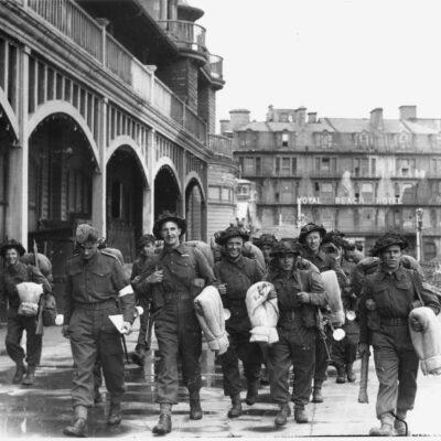 Image of troops
