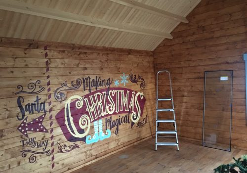Building the perfect Christmas Grotto