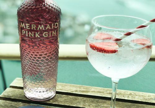 Isle of Wight Mermaid Pink Gin