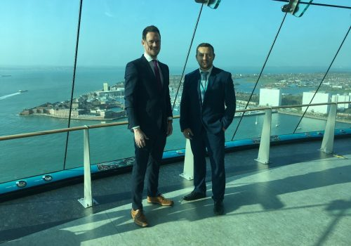 Emirates Spinnaker Tower Celebrates English Tourism Week
