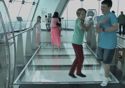 Kids Love the Emirates Spinnaker Tower because…