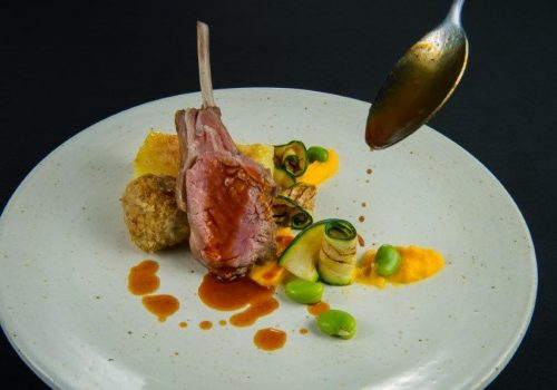 Sky Dining Recipe: South Downs Lamb Bon Bon