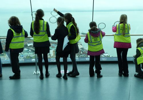 Spinnaker Tower Acheives Learning Outside the Classroom Quality Badge