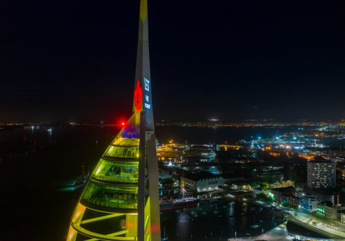 Spinnaker Tower Commemorates D-Day 75