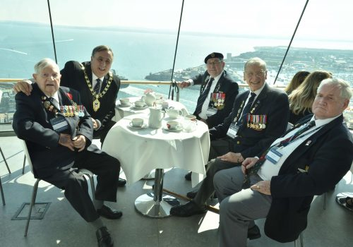 Cream Teas fit for a WW2 Veteran!